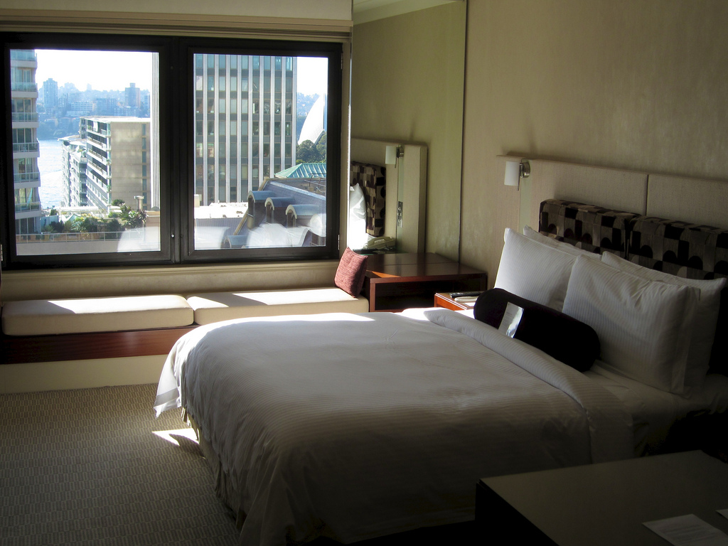Sydney InterContinental Harbour Bridge View Bedroom