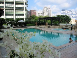 Pool Area - InterContinental Singapore