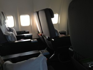 Qantas Trans-Tasman Business Class review - QF132 Auckland to Melbourne - Boeing 737