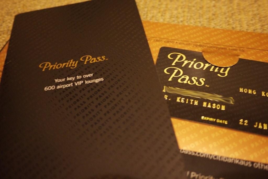 Citi Signature Priority Pass pack