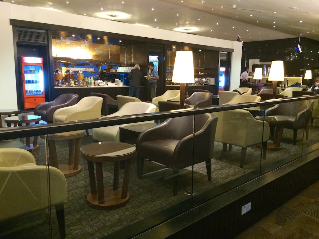 25 Malaysia Airlines Golden Wing Satellite Lounge