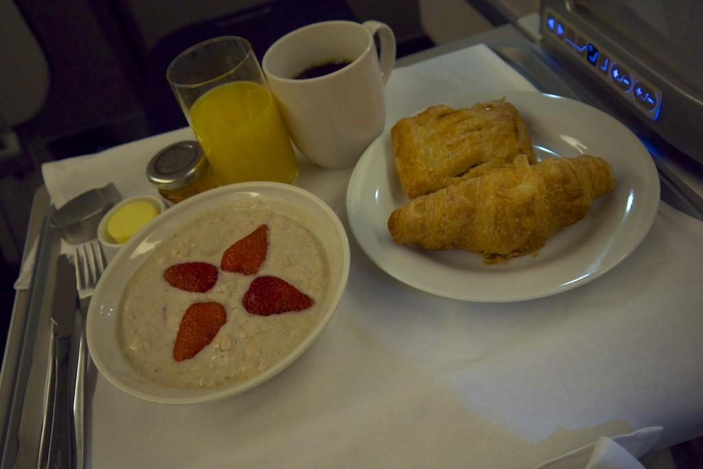 14 2nd Breakfast - British Airways Club World - BA15 - London to Sydney