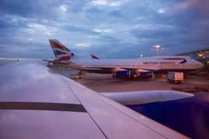 1 On the tarmac at LHR - British Airways Club World - BA15 - London to Sydney