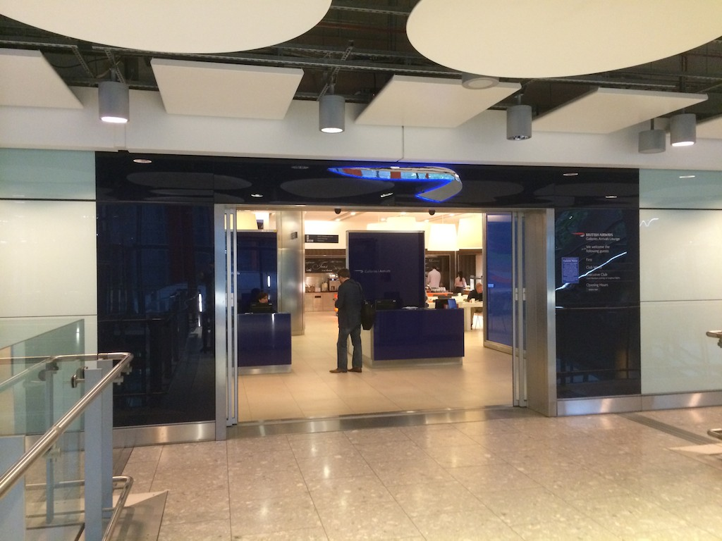15 British Airways Arrivals Lounge - British Airways Club World - BA16 - Sydney to London
