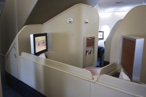 5 Qantas A380 First Class Cabin - QF127 Sydney - Hong Kong
