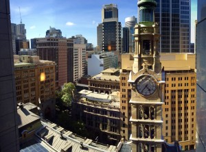 Westin Sydney Martin Place View