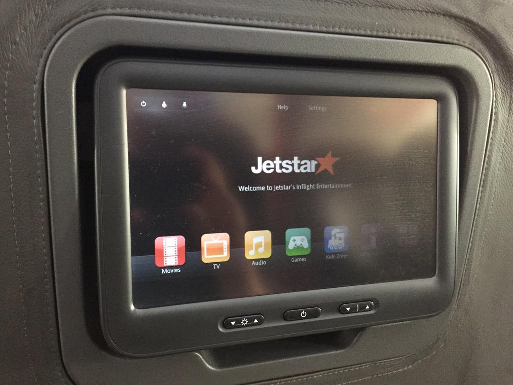 Jetstar 787 StarClass - Business Class IFE