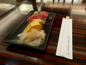 JAL Sakura First Lounge Narita - Sushi Bar (2)