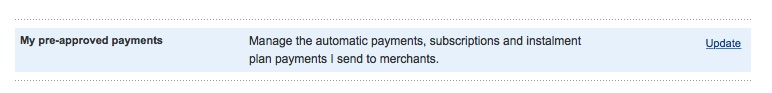 3 Paypal PreApproved Payments