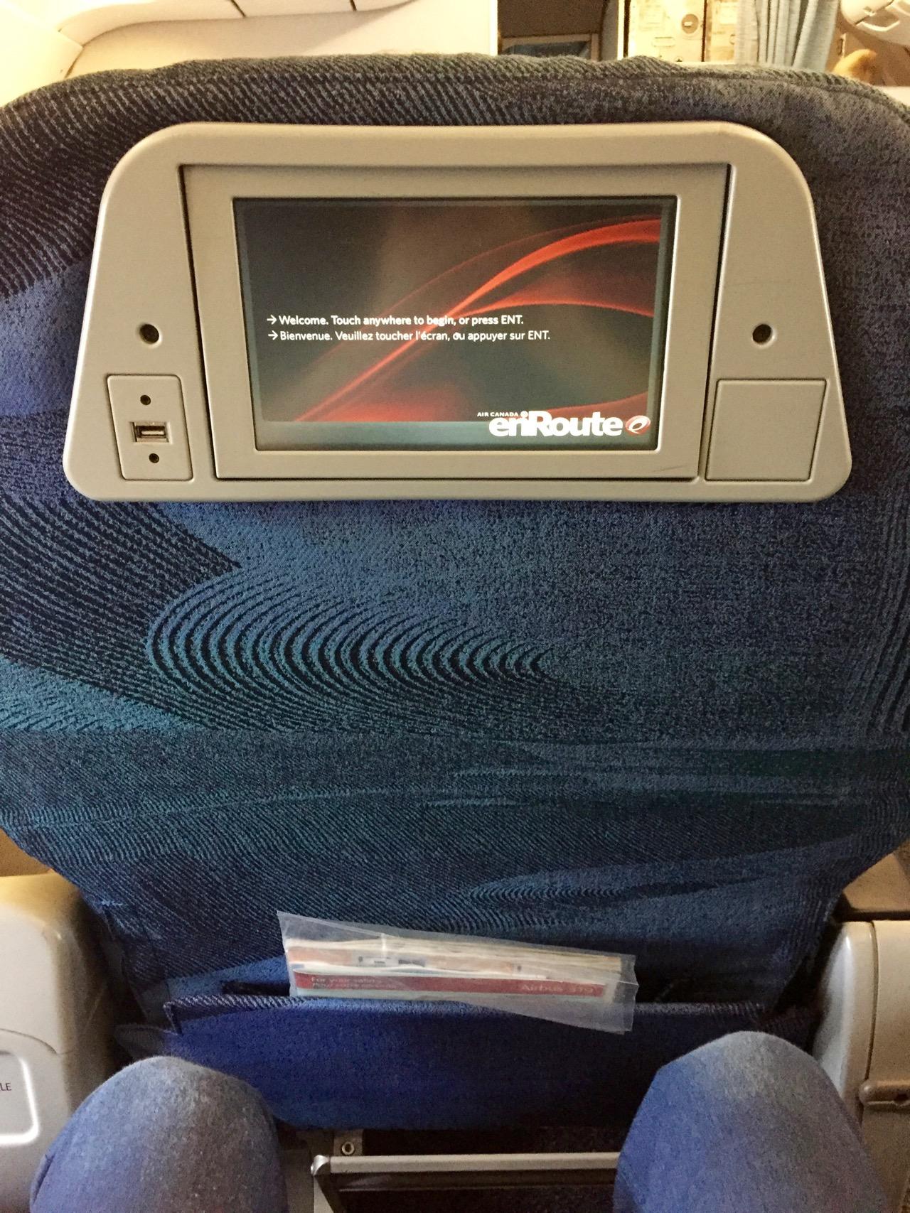 Air Canada AC548 Vancouver - Newark (3)
