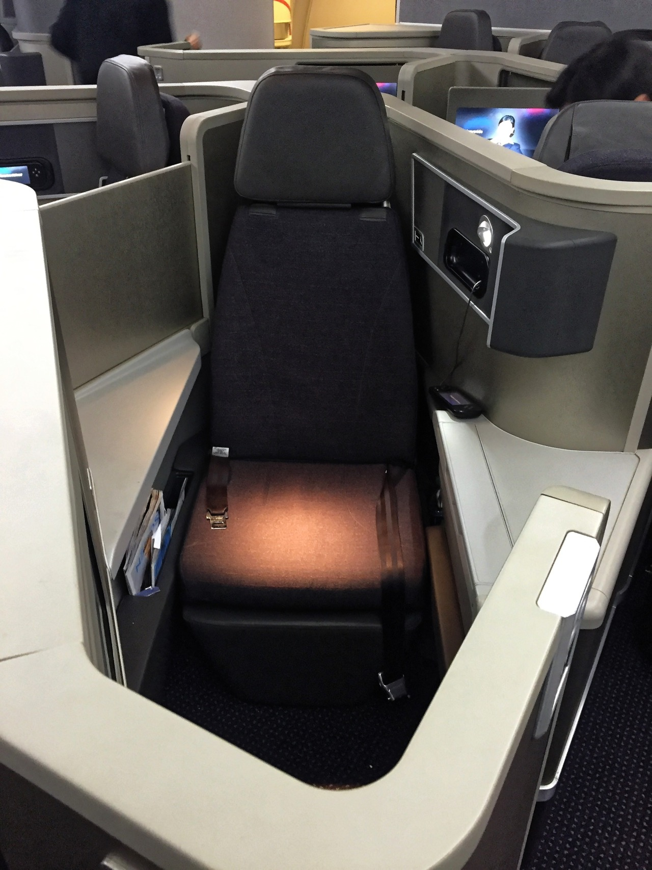 American Airlines AA142 Transatlantic 767 Business Class JFK-LHR