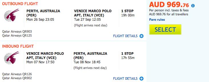Last minute travel deals under 1000