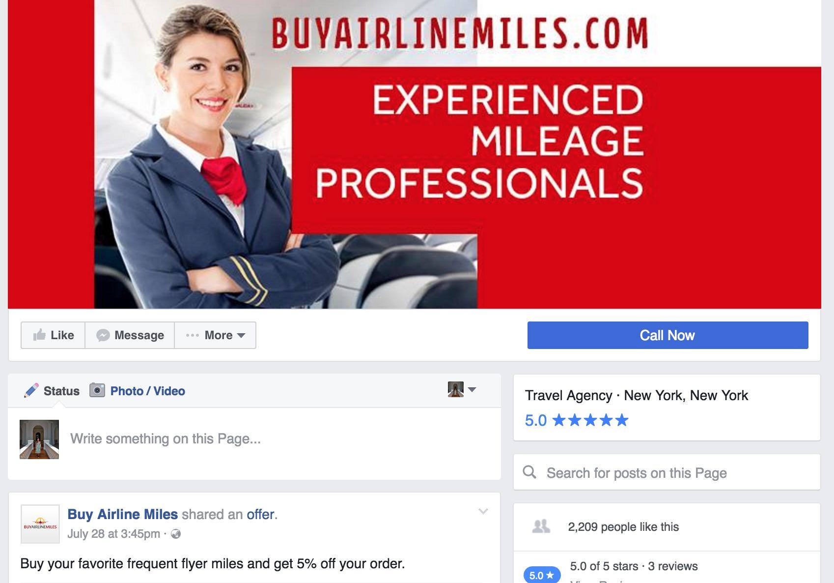 Online Mileage Brokers - Buy Airline Miles Facebook