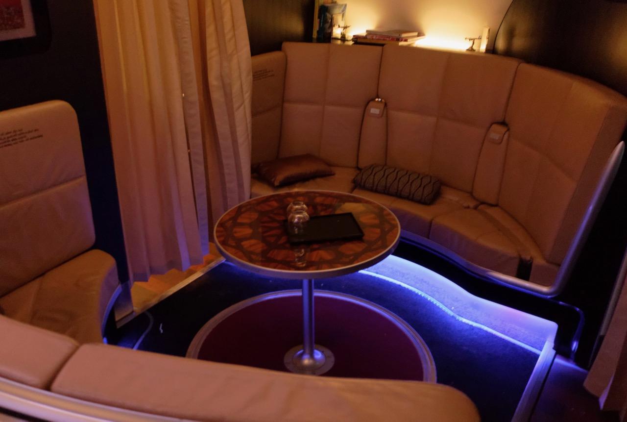 Etihad A380 Bar