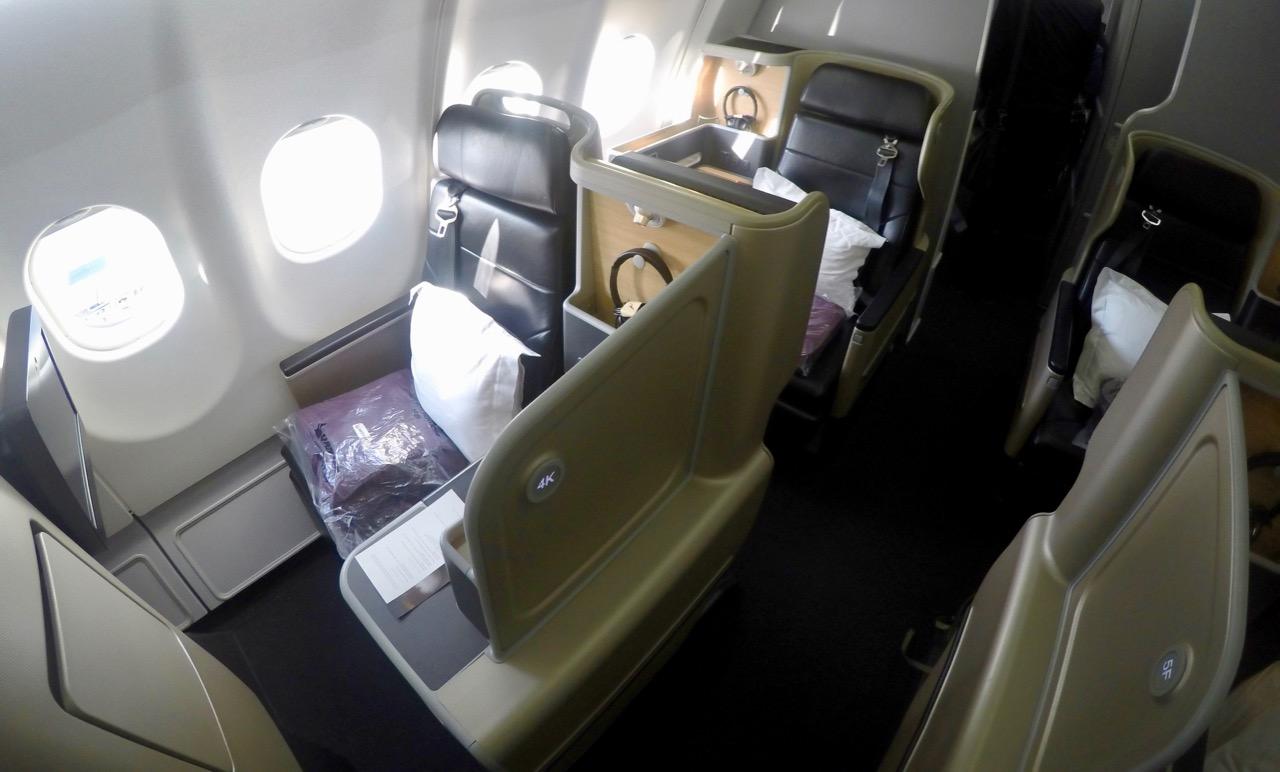 Qantas Domestic Business Class