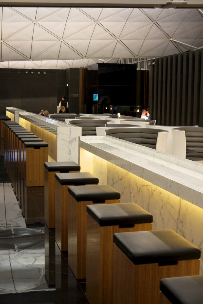 Cathay Pacific's The Wing Lounge review