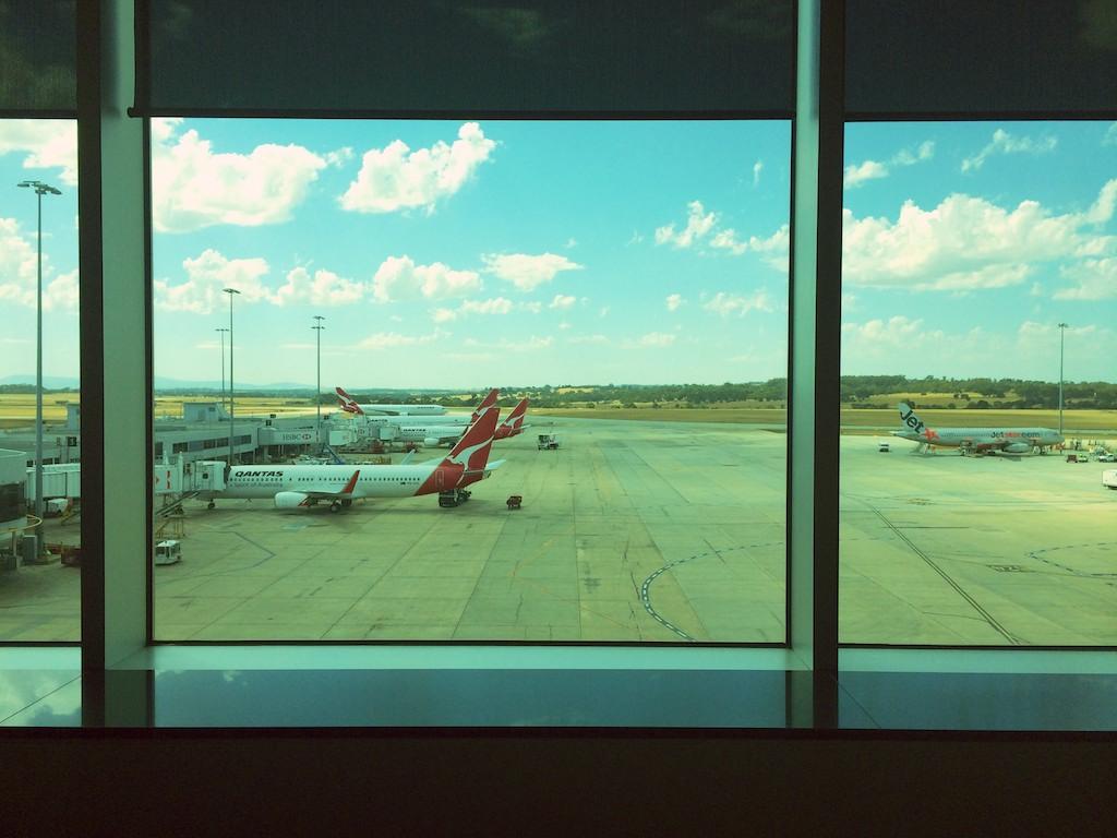14 Qantas Domestic Business Lounge, Melbourne