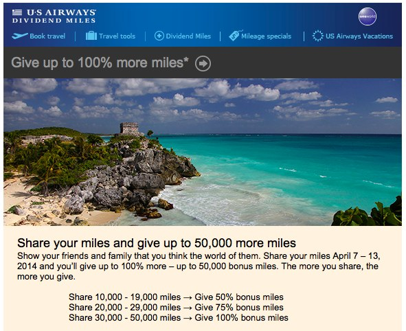 US Airways Share Deal April 2014