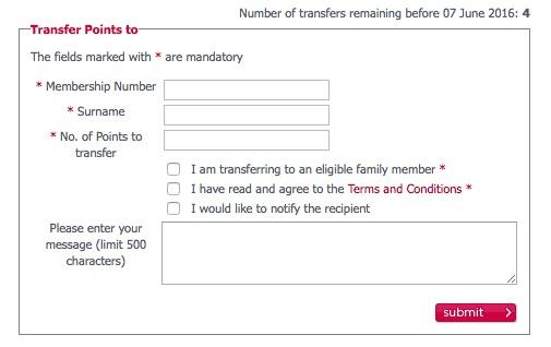Velocity Family Transfers