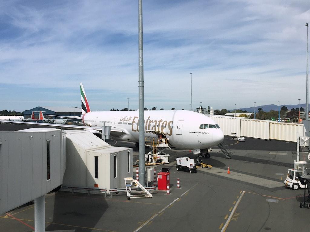 EK419 Emirates Business Class  Christchurch to Sydney