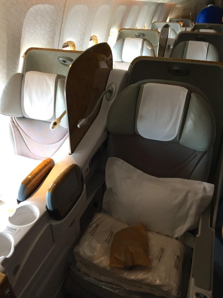 EK419 Emirates Business Class  Christchurch to Sydney  2