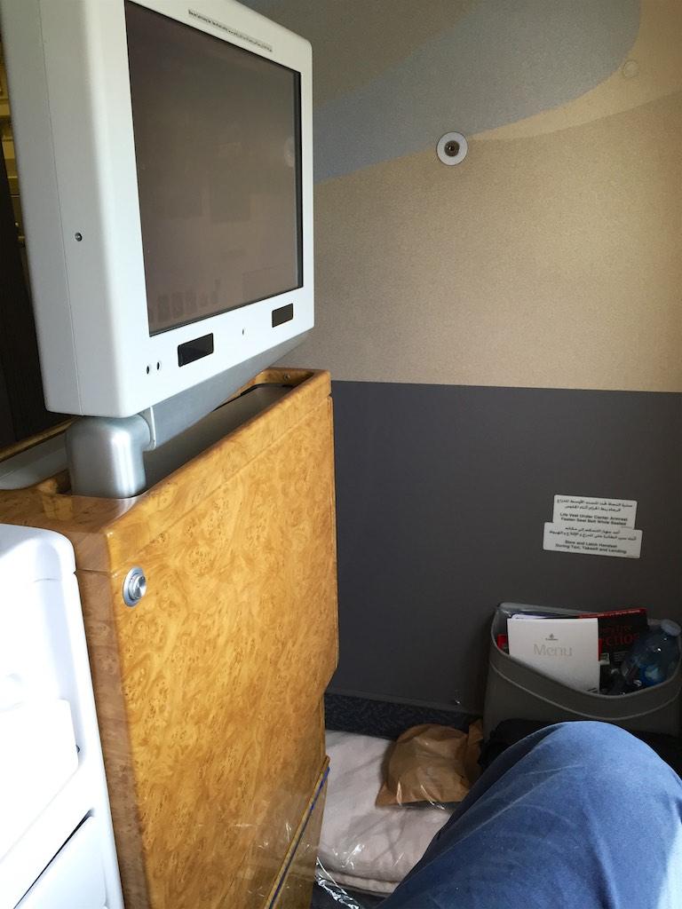 EK419 Emirates Business Class  Christchurch to Sydney  4