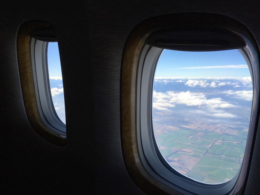 EK419 Emirates Business Class  Christchurch to Sydney  8