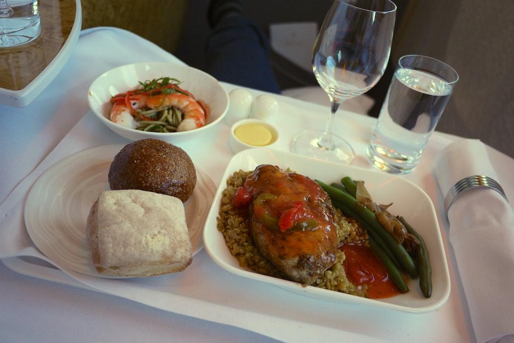 EK419 Emirates Business Class  Christchurch to Sydney  17