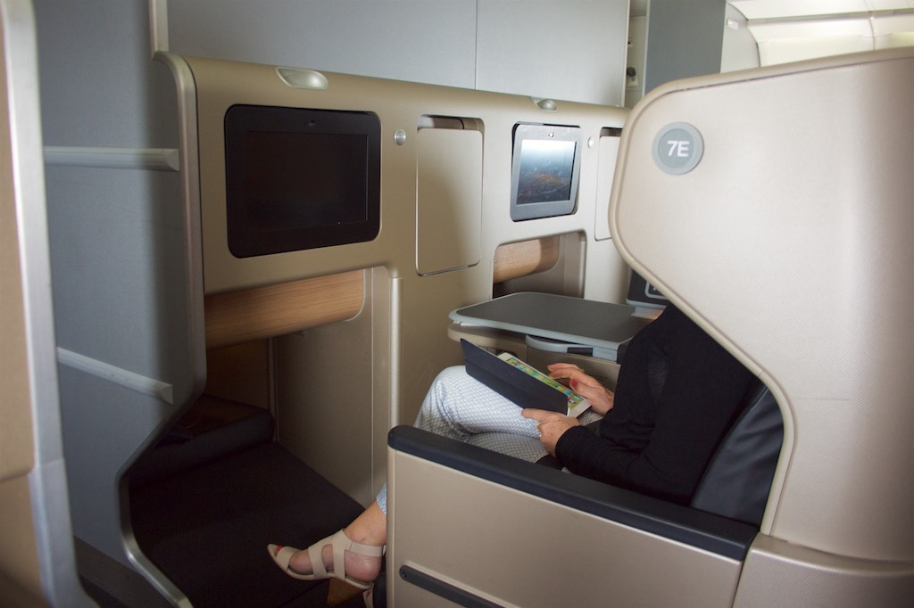 Qantas new A330 Domestic Business Class  10