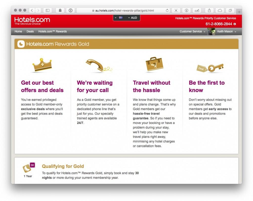 Hotels.com Member Rewards loyalty program guide for discounts