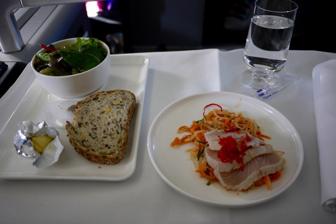 Sydney  San Francisco QF73 Qantas Business Class  14