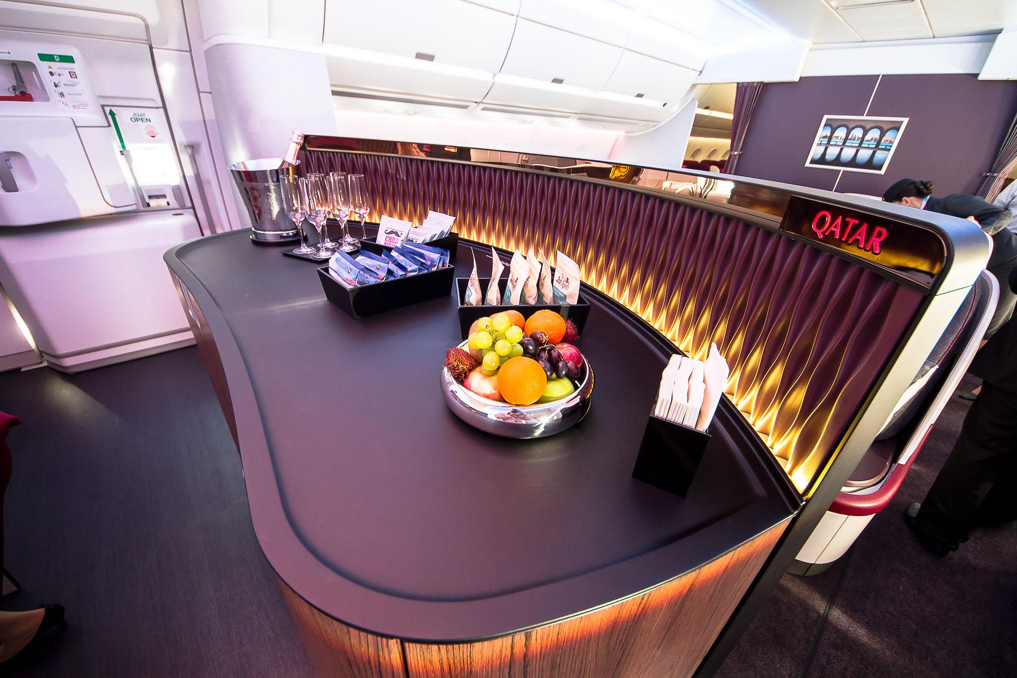 QR A350 Self-Service Bar