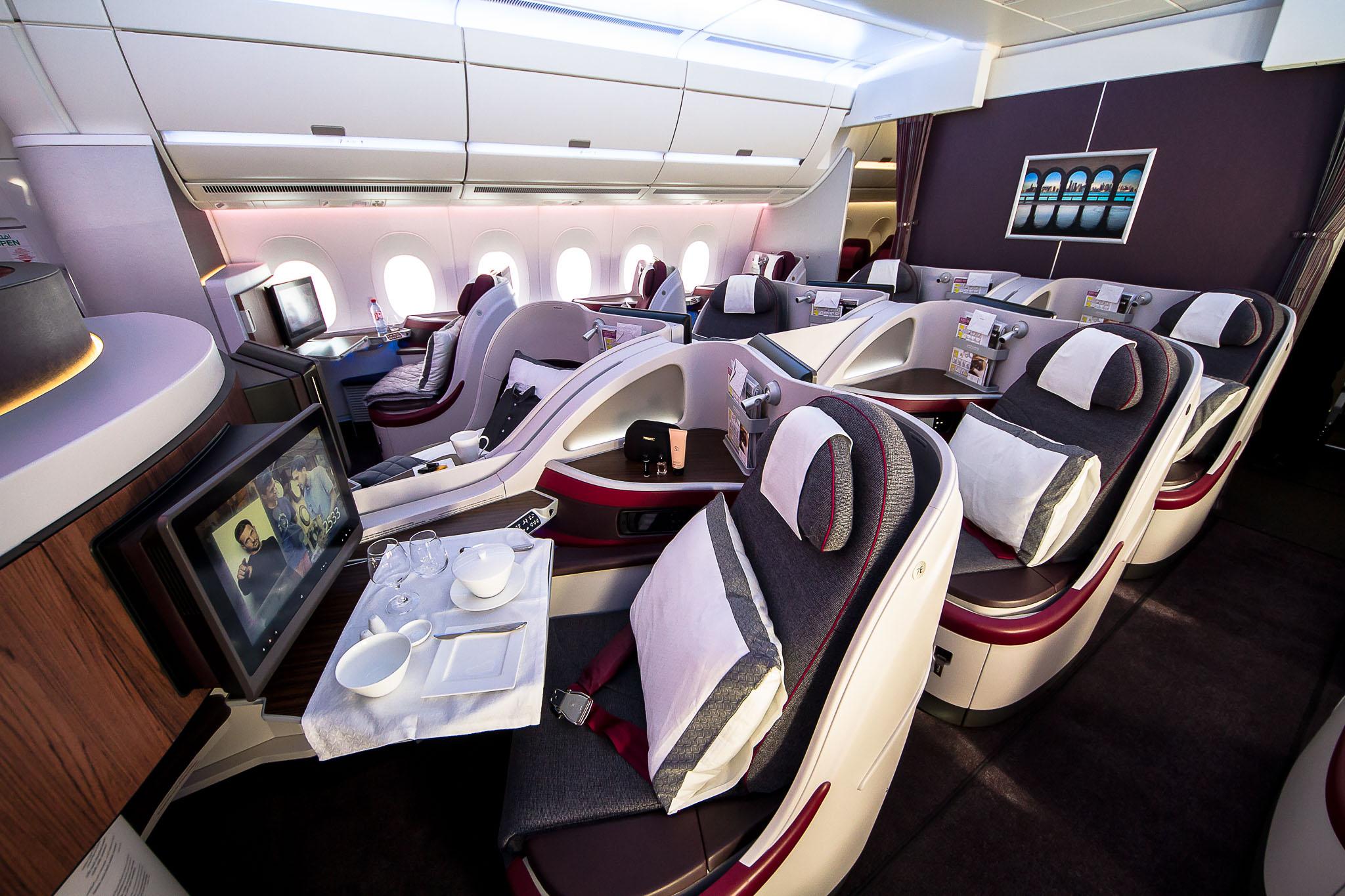 QR A350 J seat