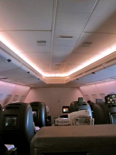 Qantas Business Class - Sydney to Frankfurt