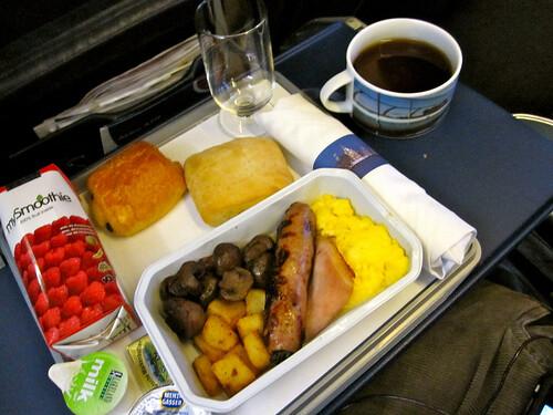 British Airways Flight Food