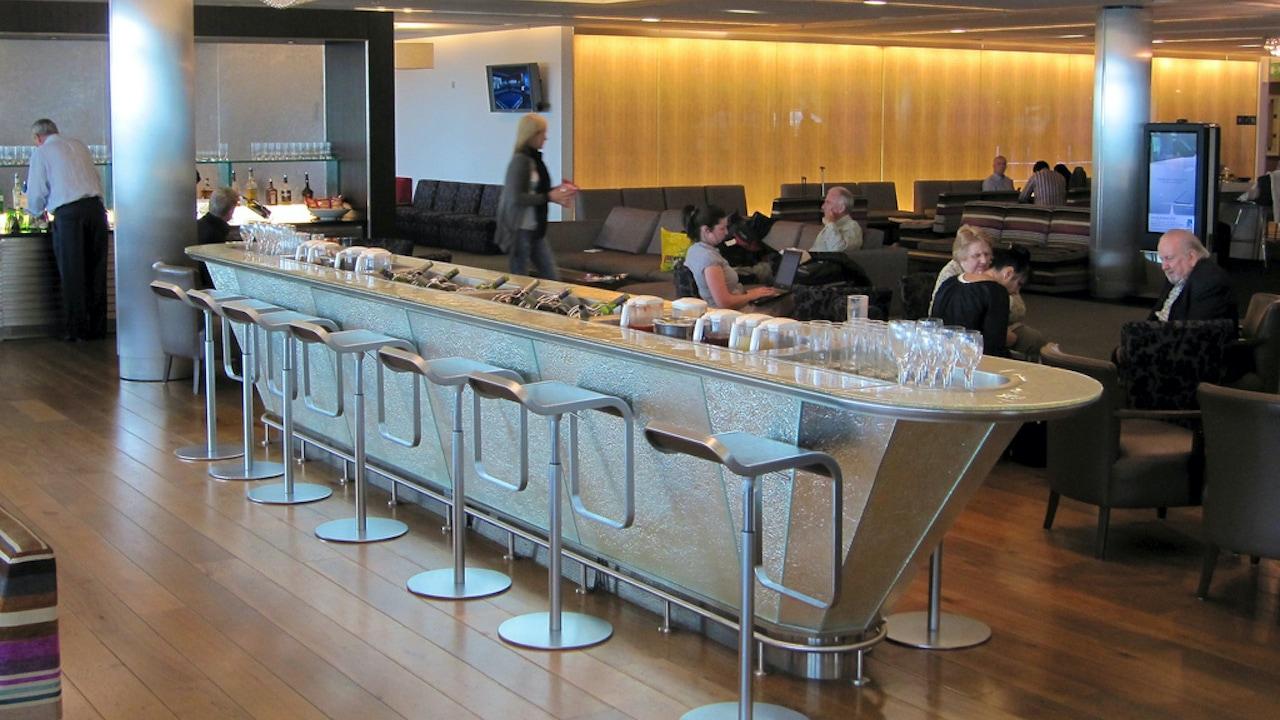 British Airways Club Europe & Heathrow T5 Galleries Lounge