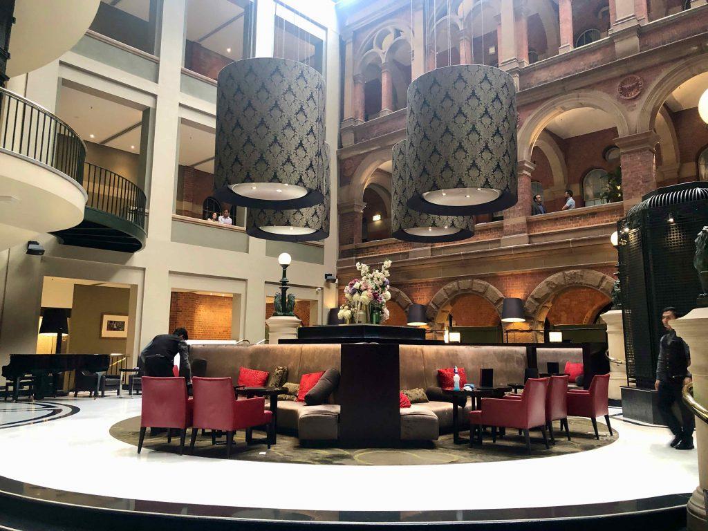 InterContinental Sydney central atrium