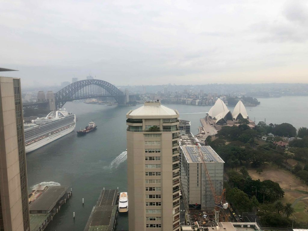 InterContinental Sydney view from pool