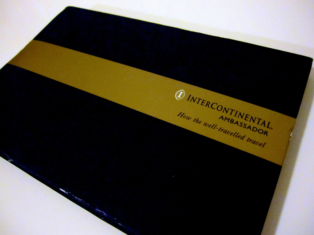 InterContinental Ambassador Membership Kit