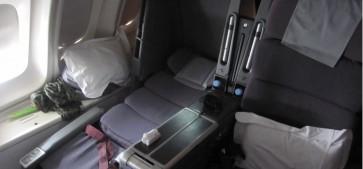 Qantas 747 Business Class Review – QF6 Frankfurt to Singapore 747 Upper Deck with kids