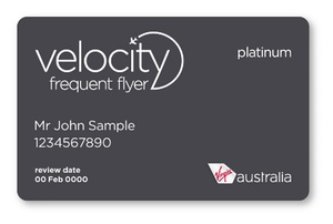 Virgin Australia Velocity Frequent Flyer Platinum Card | Point Hacks