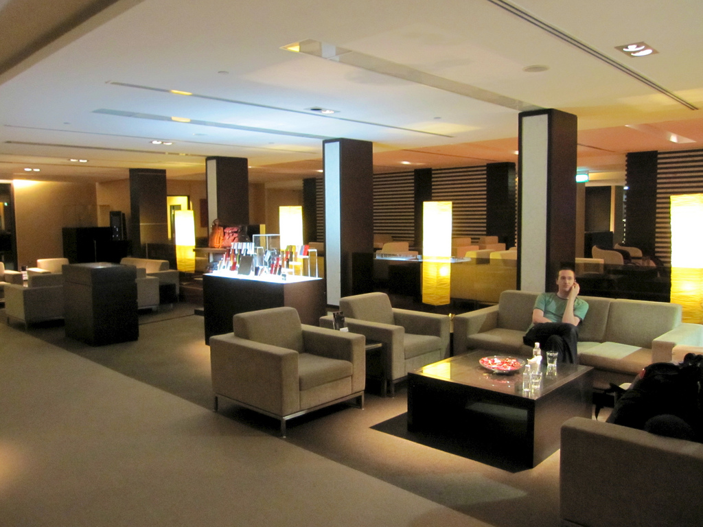 Singapore Changi Airport - Jetquay Arrival Lounge