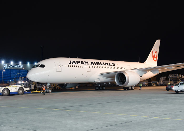 Boeing Unveils First 787 to Enter Service for Japan Airlines