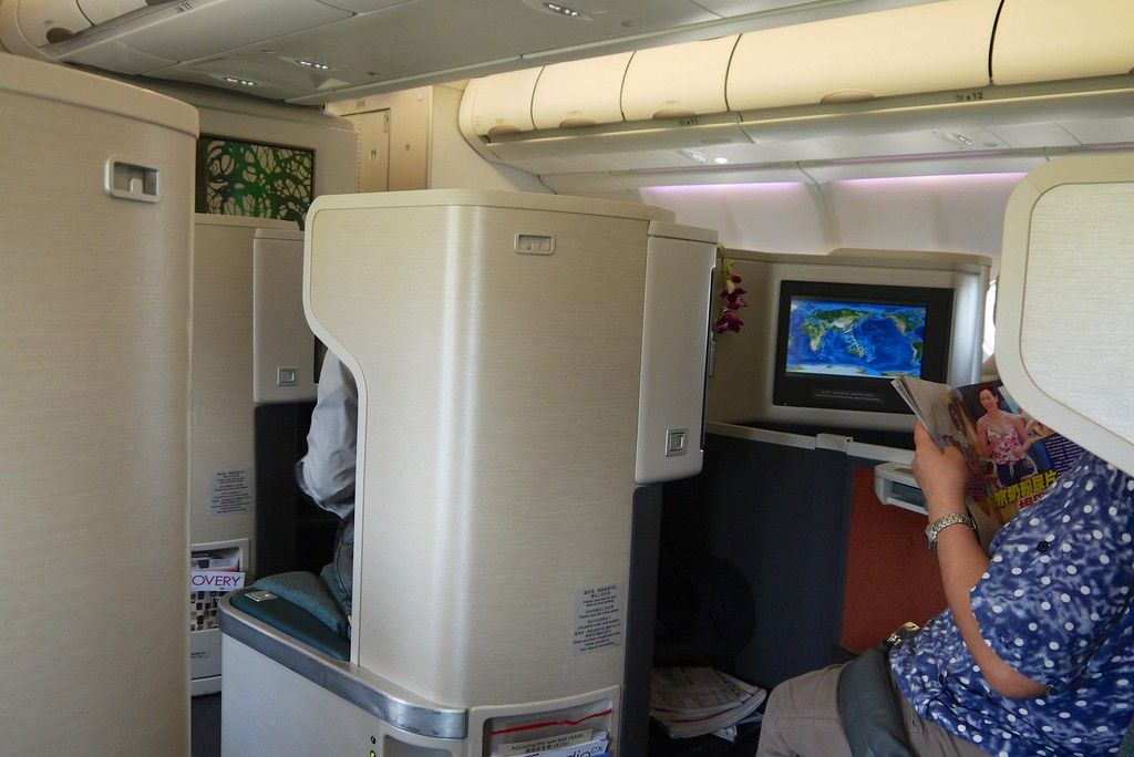 Cathay Pacific A330 (new) Business Class | Point Hacks