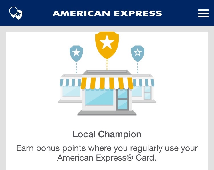 AMEX Local Champion Feature | Point Hacks