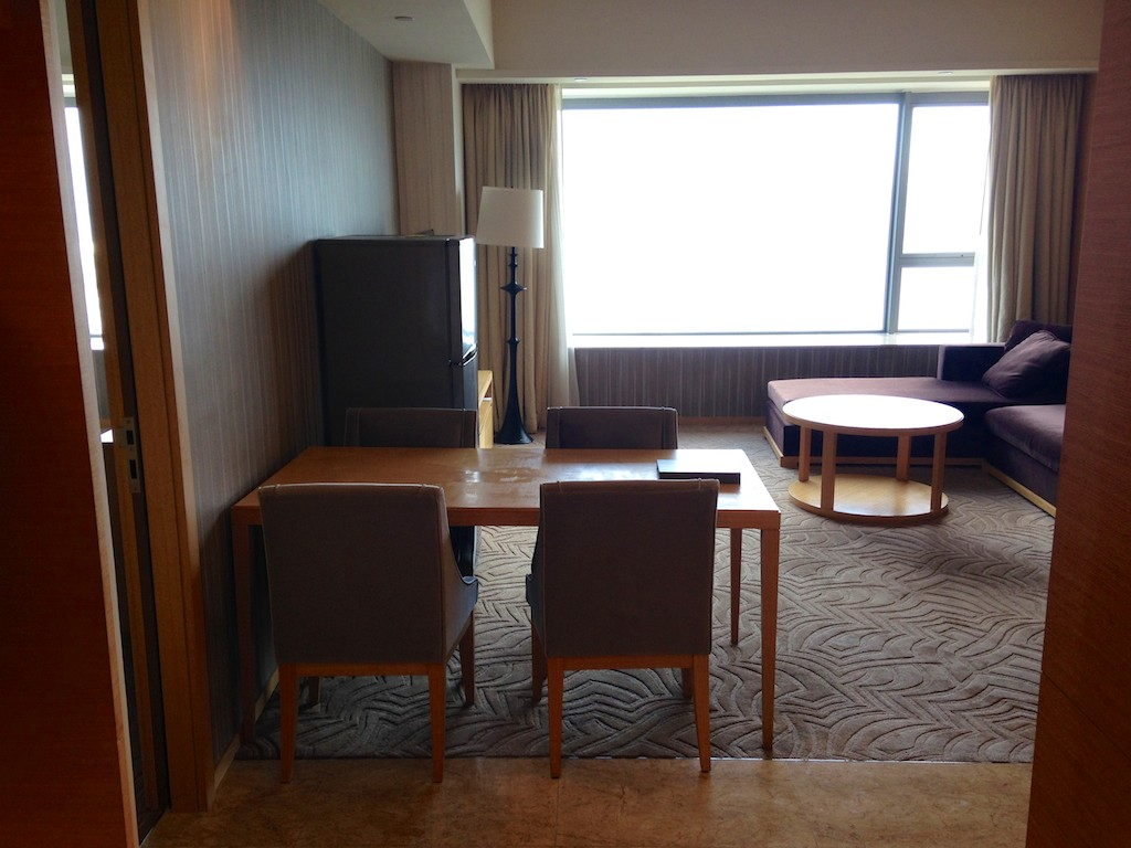 28 Dining Area - Hyatt Regency Sha Tin 2 Bedroom Executive Suite | Point Hacks