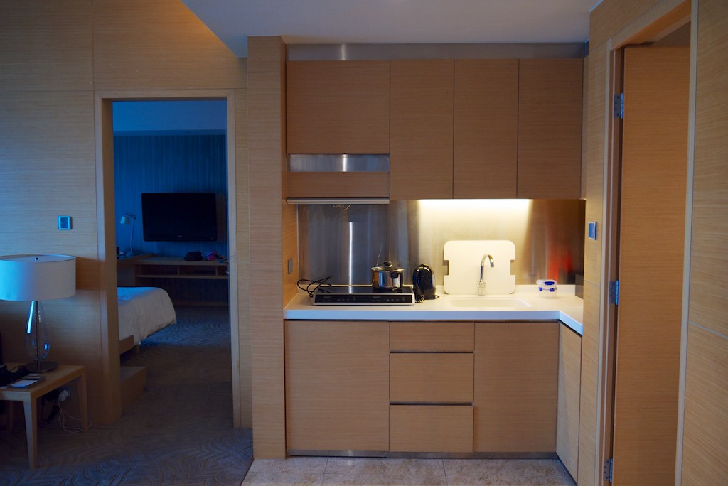 25 Kitchenette - Hyatt Regency Sha Tin 2 Bedroom Executive Suite