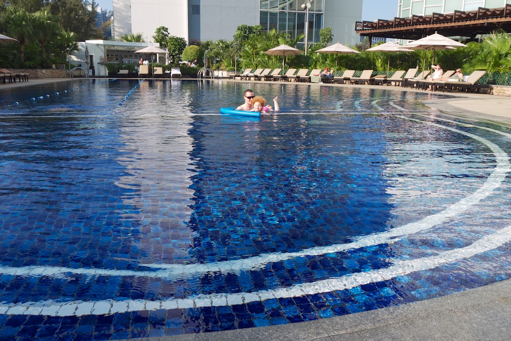 15 Hyatt Regency Sha Tin Pool