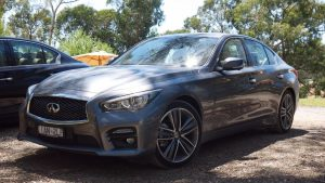 Qantas Domestic Business Class review & a drive in the Infiniti Q50 – Sydney to Melbourne return