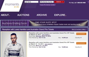 Starwood Preferred Guest opens points redemptions for Melbourne F1 Grand Prix VIP packages